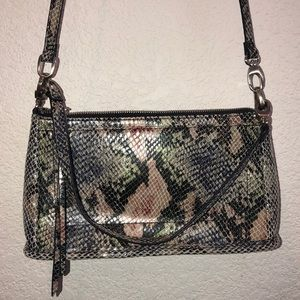 Snakeskin Cross Body purse